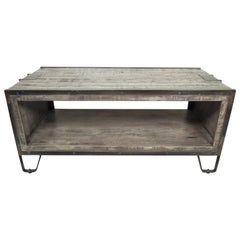 Vintage Modern Style Coffee Table