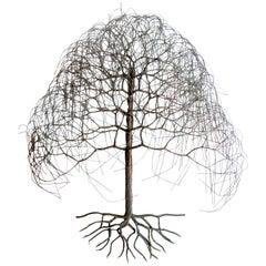 "Vintage Modern ""Tree of Life"" Wall Art"