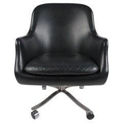 Vintage Modern Vinyl Office Chair