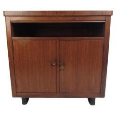 Vintage Modern Walnut Cabinet
