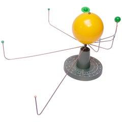 Vintage Modernist Trippensee Solar System Planetarium