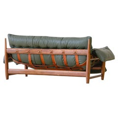 Vintage 'Mole' Solid Rosewood Sofa by Sergio Rodrigues, 1960s, Brazil