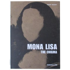 Vintage Mona Lisa the Enigma Book by Aussoline