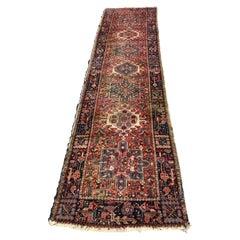 Vintage Moorish Rug Runner from Eastern Turkey