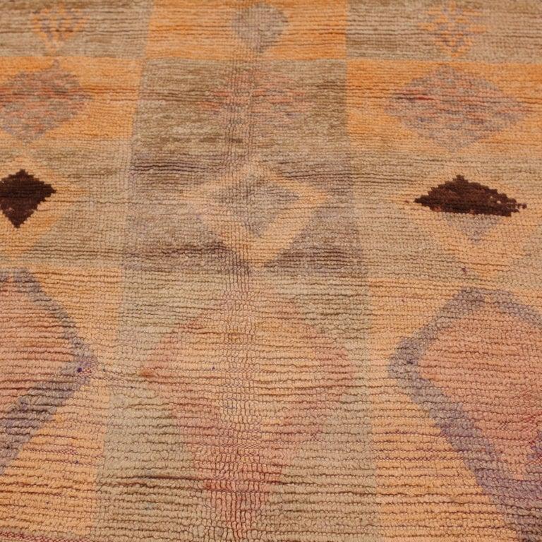 Modern Vintage Moroccan Berber Rug For Sale