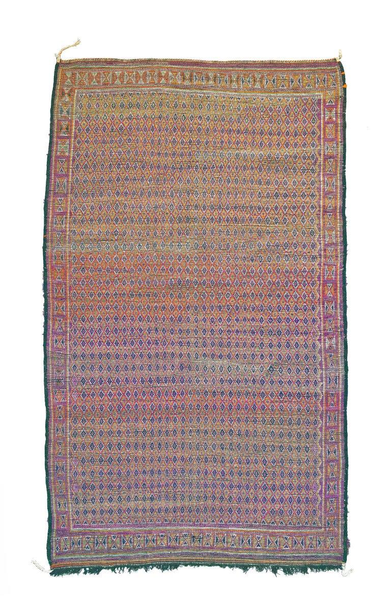 20th Century Vintage Moroccan Berber Rug For Sale
