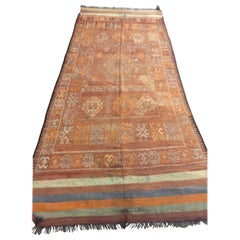 Vintage Moroccan Berber Tribal Rug, circa 1960