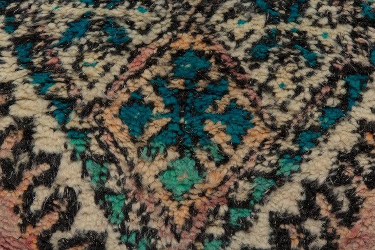 Vintage Moroccan Boujad Rug, Bohemian 1