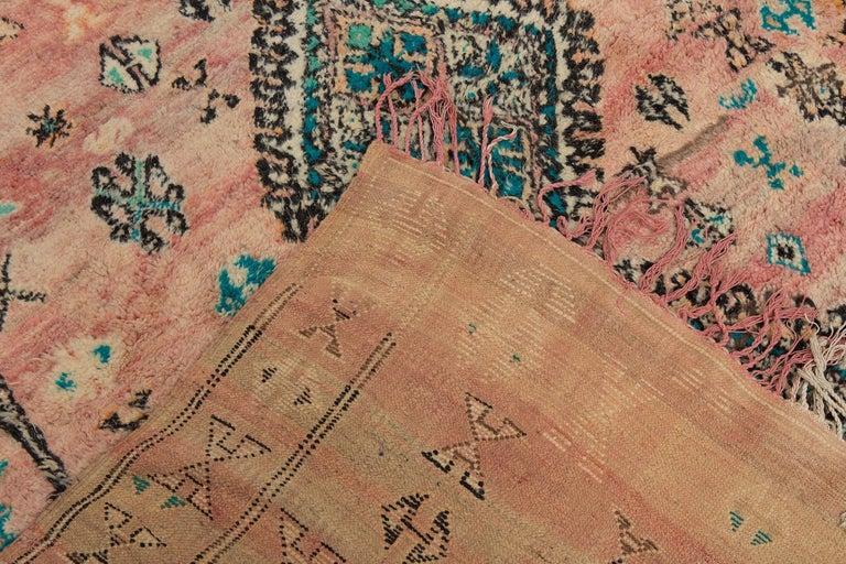 Vintage Moroccan Boujad Rug, Bohemian 2