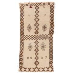 Vintage Moroccan Carpet, circa 1950s