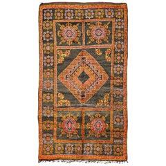 Vintage Moroccan Middle Atlas Tribe Berber Rug