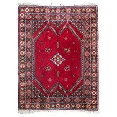 Vintage Moroccan Rabat Rug
