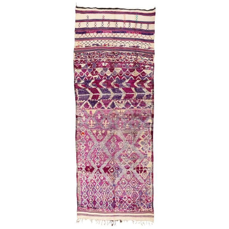 Vintage Moroccan R'hamna Berber Rug For Sale At 1stdibs