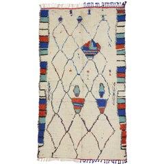Vintage Moroccan Rug, Berber Moroccan Azilal Tribal Rug