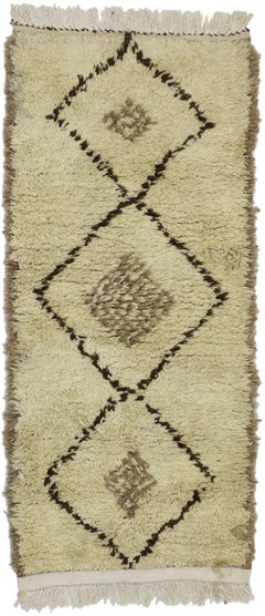 Vintage Moroccan Rug, Berber Moroccan Rug with Modern Style