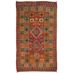 Vintage Moroccan Rug, circa 1940, 6'2 x 10'7