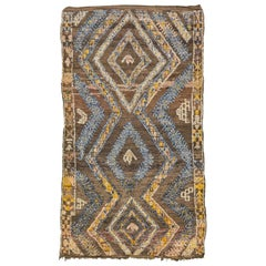 Vintage Moroccan Rug High Atlas Collection