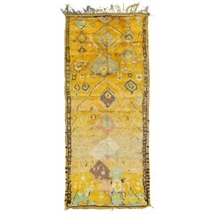 Vintage Moroccan Rug High Atlas Collection