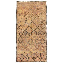 Vintage Moroccan Rug Middle Atlas Tribe Atlas Collection