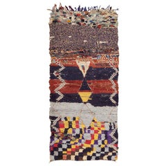 Moroccan Rug. Size: 3 ft x 6 ft 6 in (0.91 m x 1.98 m)