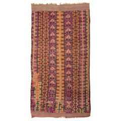 Vintage Moroccan Rug. Size: 5 ft 10 in x 11 ft 3 in (1.78 m x 3.43 m)