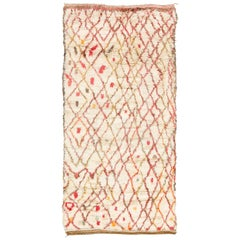Vintage Moroccan Talsint Tribe Rug