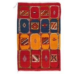 Vintage Moroccan Tribal Handmade Rug or Carpet