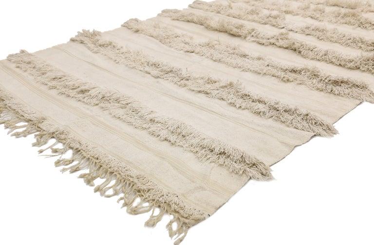 Vintage Moroccan Wedding Blanket, Berber Handira Tamizart For Sale 2
