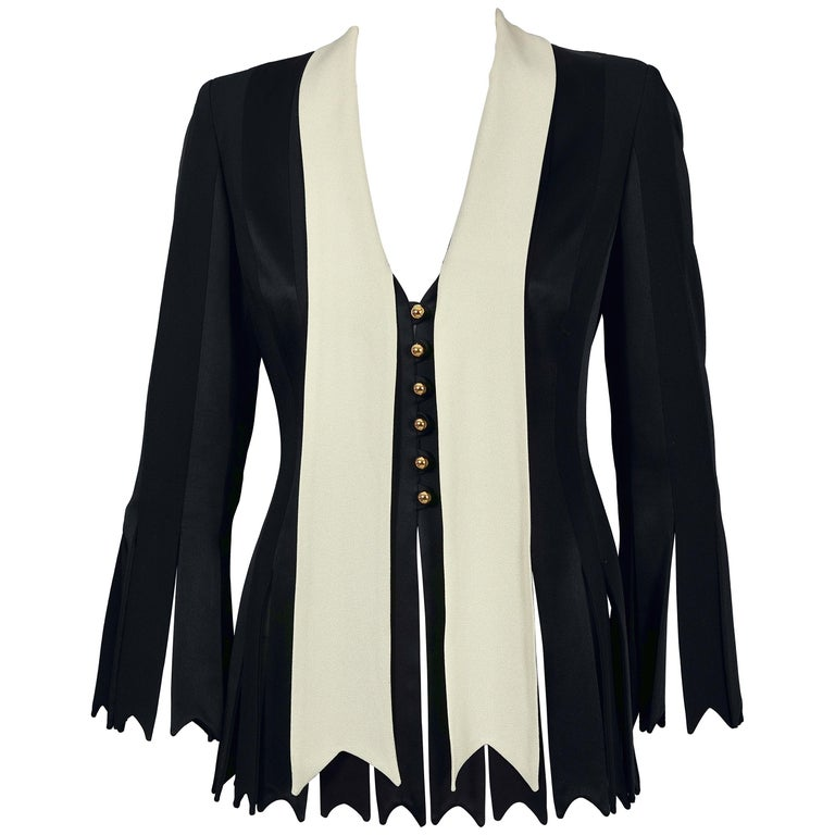 MOSCHINO Women/'s Blazer Jacket Cheap and Chic Vintage  90s
