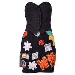 Vintage Moschino Couture 1993/94 Bustier & Skirt Ensemble