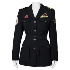 Vintage MOSCHINO Military Harmony Novelty Jacket