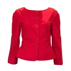 Vintage Moschino Red Jacket