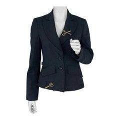 Vintage MOSCHINO Scissor Novelty Blazer Jacket