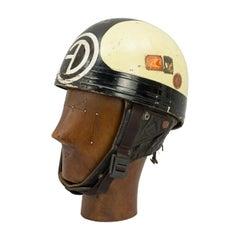 Vintage Motorcycle Racing Cromwell Crash Helmet, Manx Grand Prix, TT Isle of Man