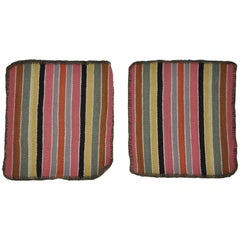 Vintage Multi-Color Ethnic Place Matts from Peru
