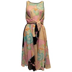 Vintage Multi Colour Dress by Weil Paris