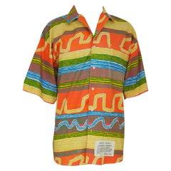 Vintage multicoloured cotton shirt