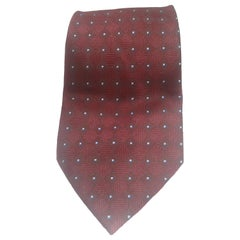 Vintage multicoloured silk tie