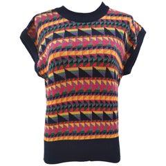 Vintage multicoloured vest