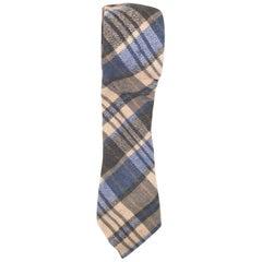 Vintage multicoloured wool tie