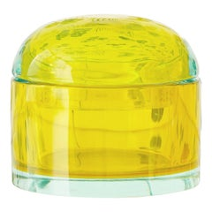 "Vintage Murano Glass Box ""Seguso Vetri D' Arte"", Flavio Poli, Italy, 1950s"