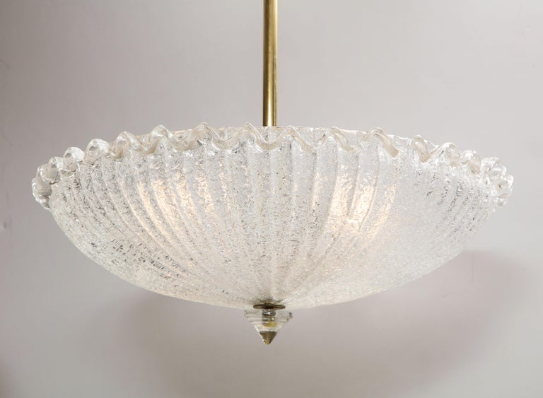 Mid-Century Modern Vintage Murano Glass Chandelier For Sale