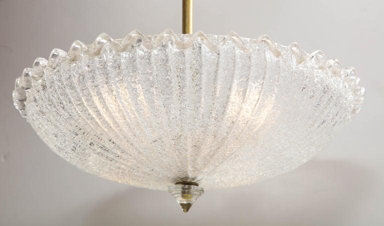 Italian Vintage Murano Glass Chandelier For Sale