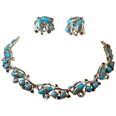 Vintage Murano Glass Necklace & Earrings