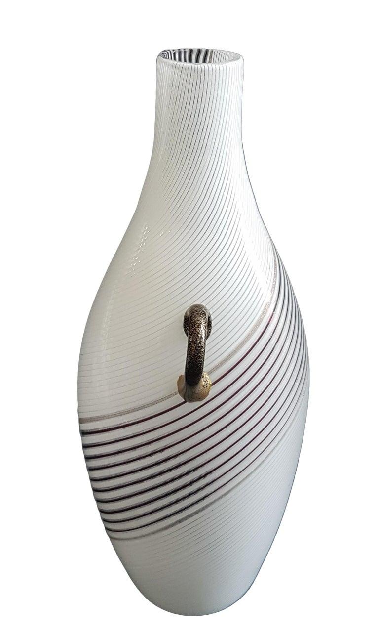 Italian Vintage Murano Glass Vase Model