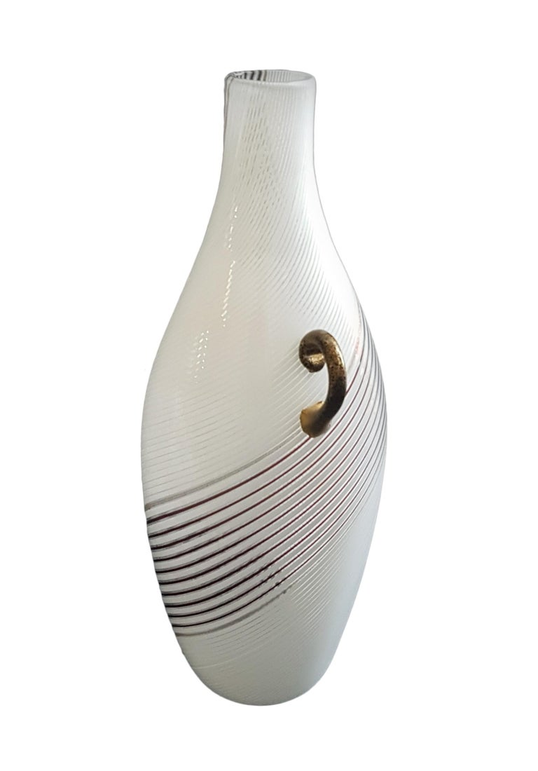 Vintage Murano Glass Vase Model