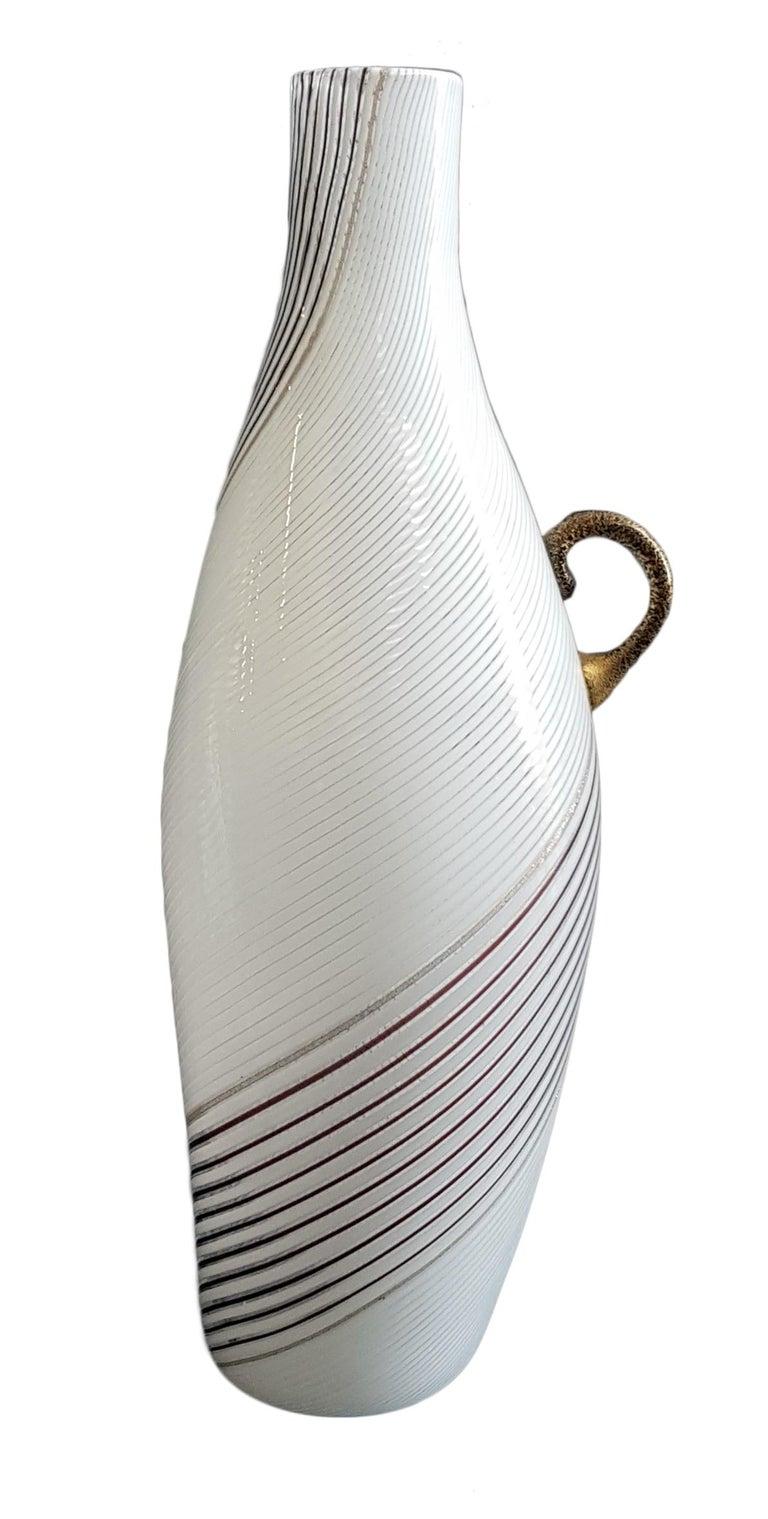 Mid-20th Century Vintage Murano Glass Vase Model