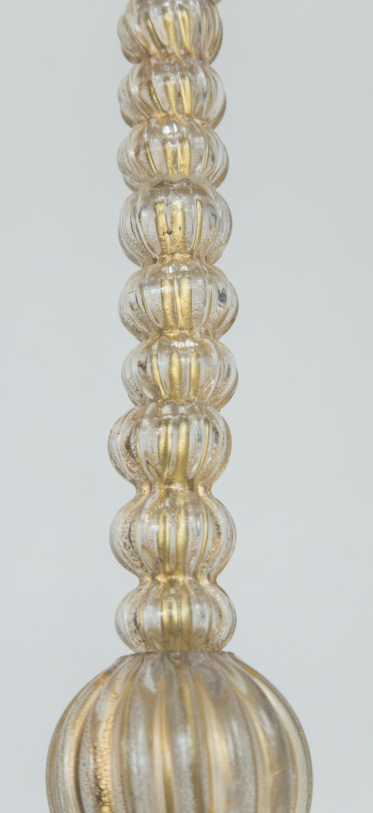 Mid-20th Century Vintage Murano Lantern by Ercole Barovier For Sale