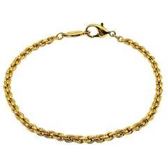 Vintage Napier Rope Style Chain Bracelet 1980s