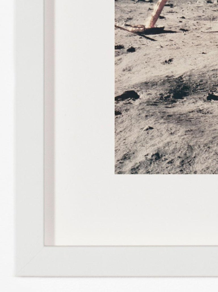 American Vintage NASA Photograph of the Apollo 11 Moon Landing For Sale